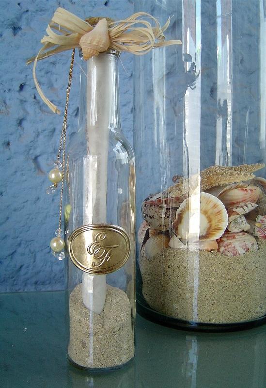 Invitaciones De Boda Originales En Una Botella Marile Eventos - Invitaciones-de-boda-en-botella