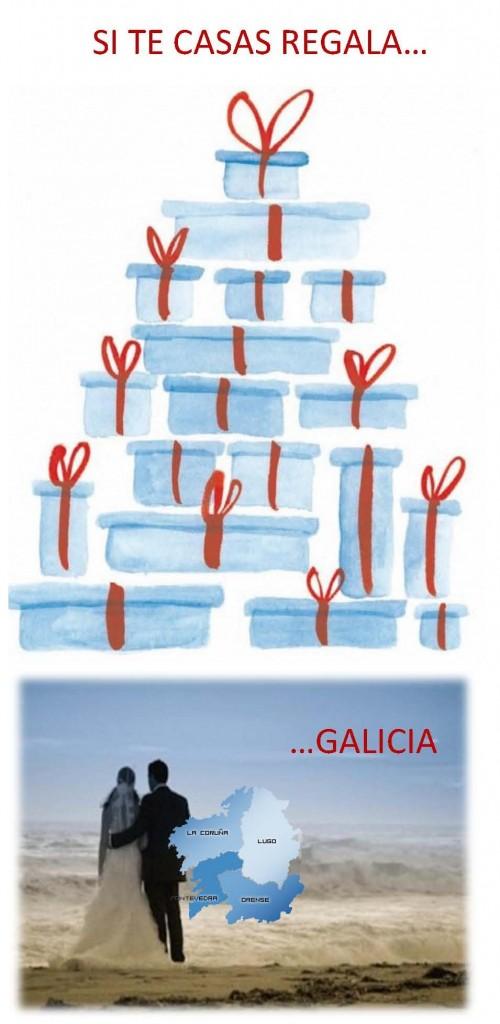 SI TE CASAS REGALA GALICIA